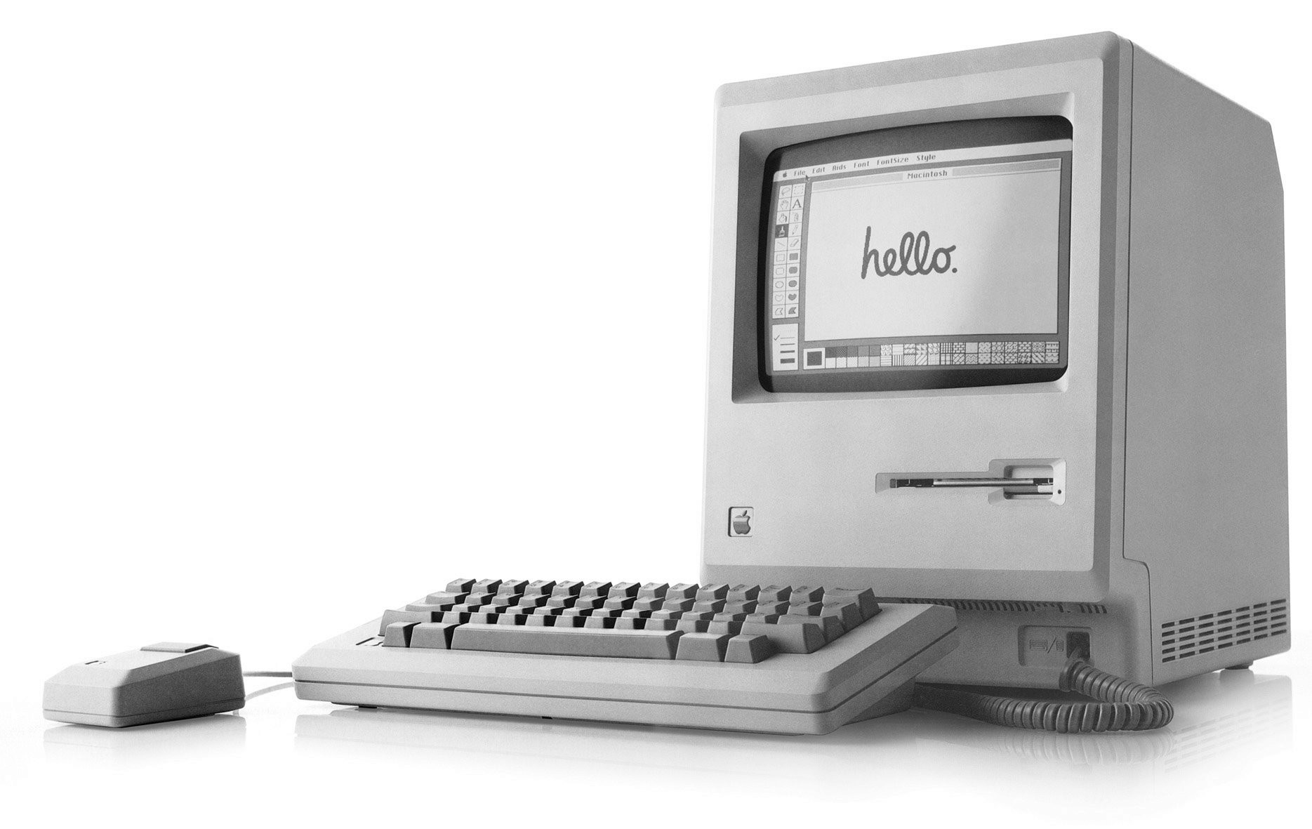 Macintosh 128K de Apple en 1984