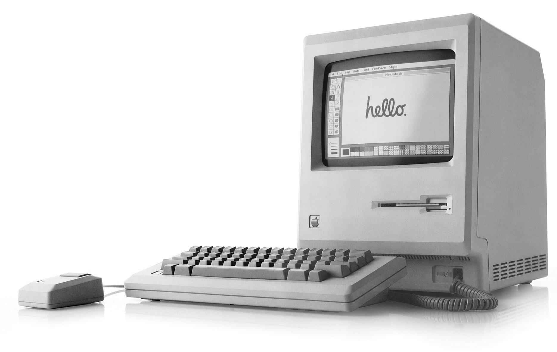 Macintosh 128K de Apple en 1984
