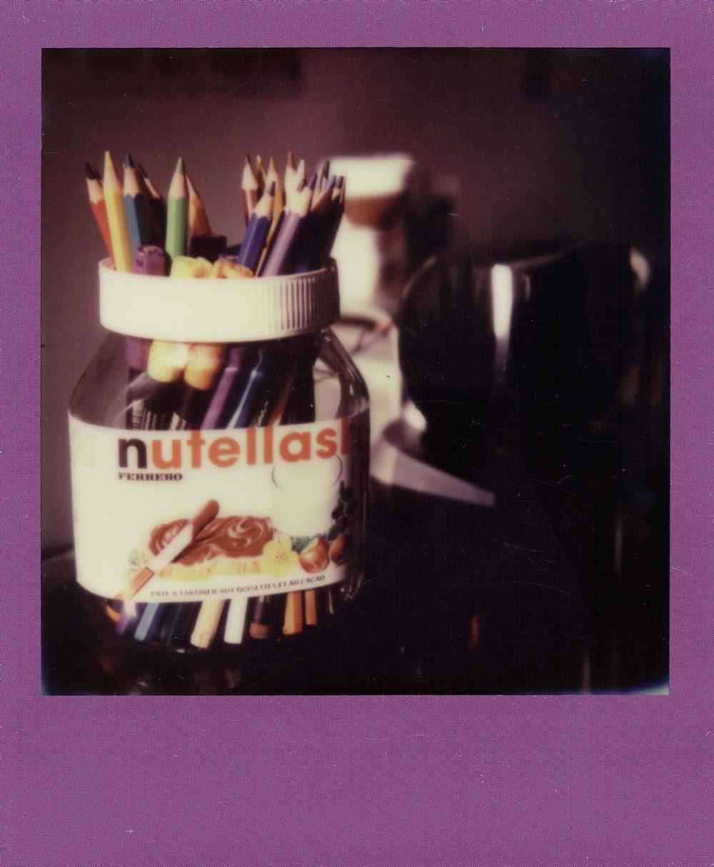 003.-Pencils-Nick---Polaroid-SLR680